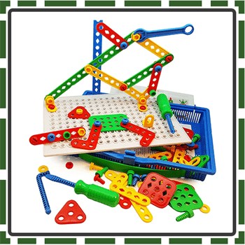 Educational best tinker toy for kids