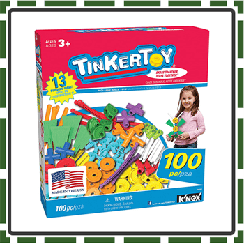 100 piece best tinker toy for kids