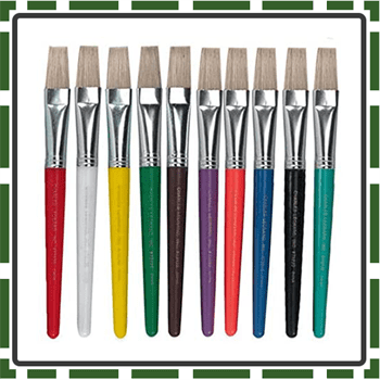 Charles Best Kids paint brushes