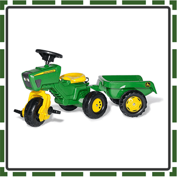 Best Three Wheel Pedal Tractors for Kids