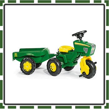 Best Rolly Pedal Tractors for Kids